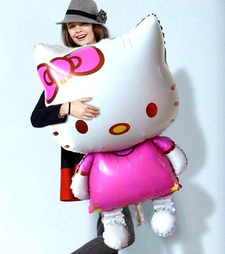 Hello Kitty Balloon #hellokitty #kawaii #cute #balloon #merchandise #party