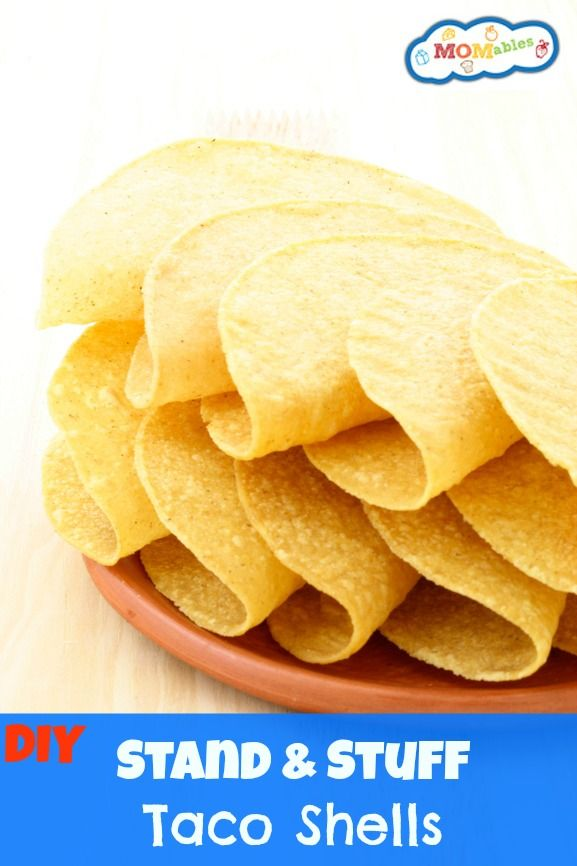 How to make your own crunch taco shells! - MOMables.com