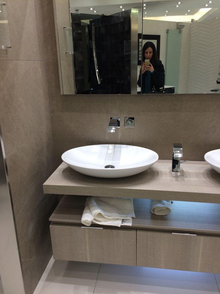 For guest WC  Tile & Bath