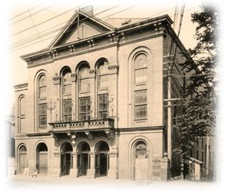 Today in Canadian Art History (April 24): Halifax Symphony Orchestra gives its inaugural concert at the Academy of Music #Halifax #NovaScotia #music #history