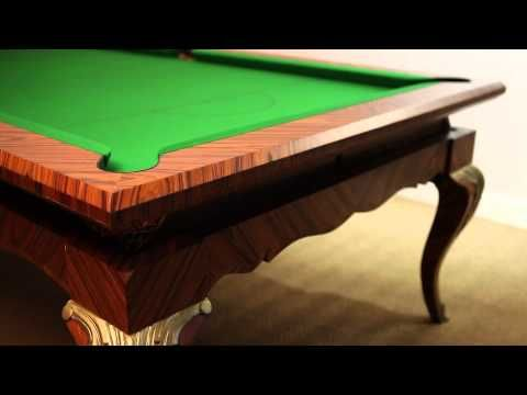 Sir William Bentley Billiards is one of the renowned makers and restorers of pool, snooker and billiard tables across UK. All our tables are handcrafted by our skilled craftsmen in our workshops and have established a tradition for excellence. For more details, call us on +44 (0) 1264 731 210.