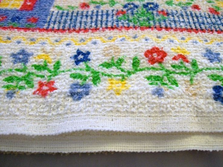 Vintage Terrycloth Tablecloth, 1970s Tablecloth, Large Tablecloth, Picnic  Tablecloth, Tablecloth, Table