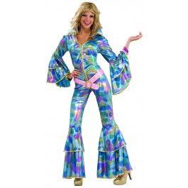Disco Mama 70s 80s Med - Large 10 - 14 Ladies Costume