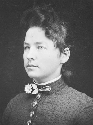 Minnie Freeman ~ teacher in 1888 who roped her students together and led them through a total white-out blizzard from the schoolhouse whose roof had collapsed to a farmhouse three-quarters of a mile away...PM