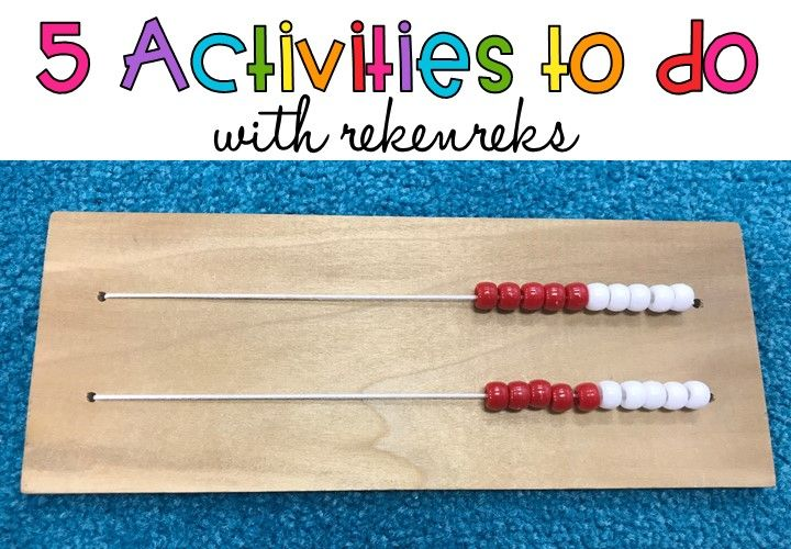 Are you interested in using rekenreks with your students, but you're not sure how? A few years ago, I was in the same boat. I had been to a math training that used rekereks and I couldn't wait to use them in my classroom. I made a class set out of cardboard and proudly brought them to school. Except I had no idea what to do with them! I had learned a game or two, but needed guidance with how to teach my students about them. In this post, I'll show