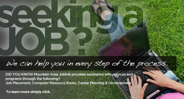 JobLink: provides employment and training programs and referrals.