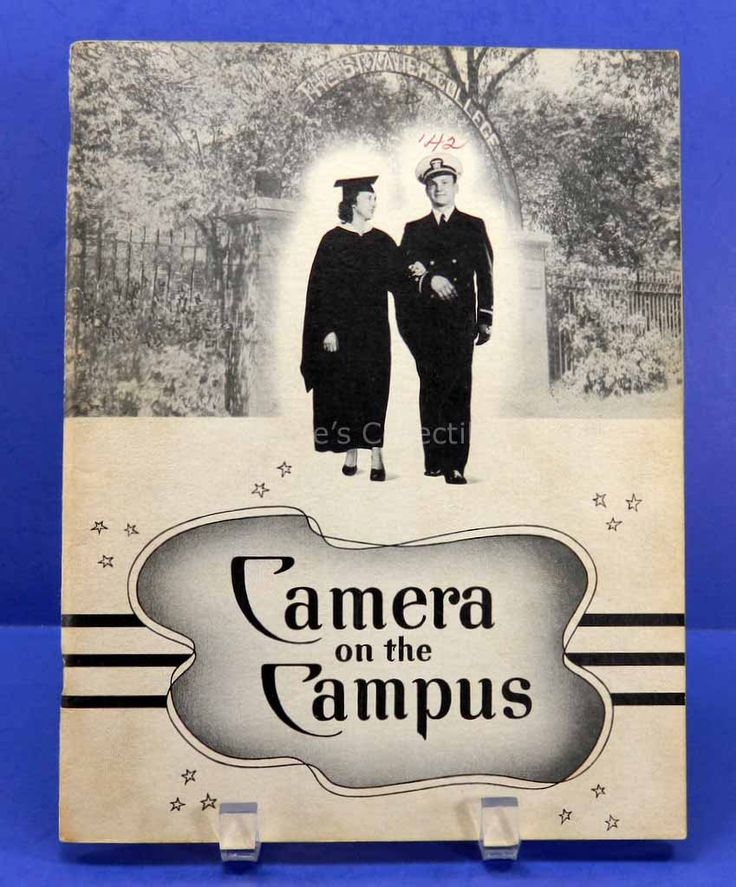 St Xavier College for Women 1942 Yearbook Camera on the Campus Chicago Nursing - 13589 by QueeniesCollectibles on Etsy