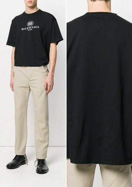 1a80b6a12e9 Top 8 Best-selling and Most Popular Balenciaga Men's T-shirts in ...