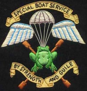 Special Boat service Badge