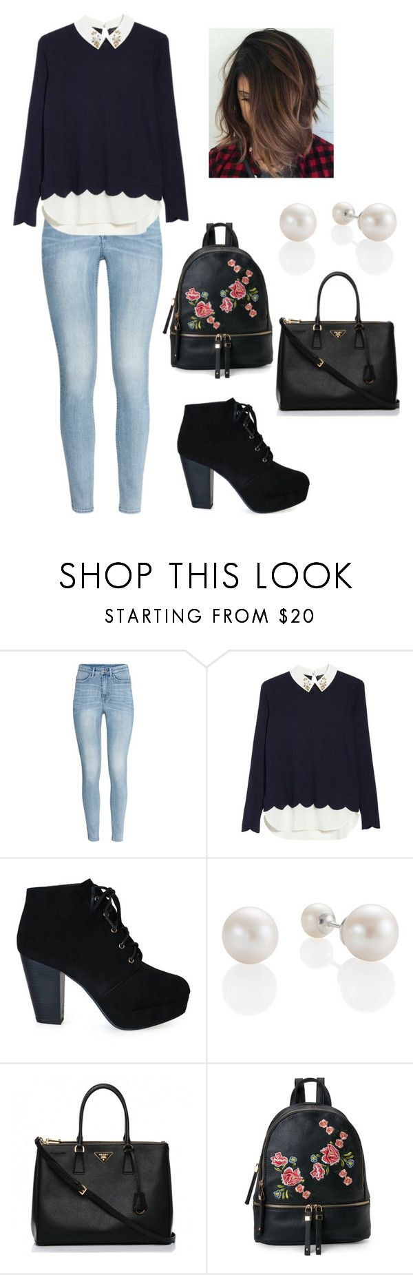 """""""♥_________♥"""" by lore-4ever-directioner on Polyvore featuring H&M, Ted Baker, Prada, Urban Expressions, men's fashion y menswear"""