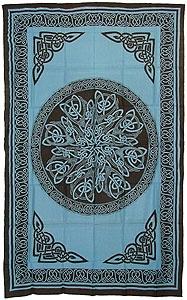 bedspread celtic knots river village 11 72x108 2 35 celtic knotbedspreadtapestriesbedroom ideasriversdo