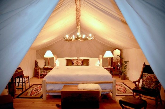 Glamping in Colorado. This is #4, The Vail Collective Retreat (Vail)
