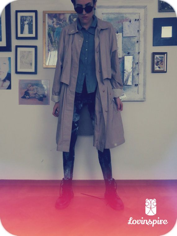 Lovinspire handpicked 80s Vintage outerwear. Perfectly matched with Dr. Martens...