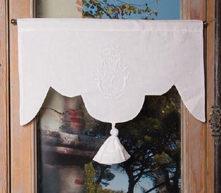 79 best windows images on pinterest shades curtain ideas and net curtains - Patron de valence de rideau ...