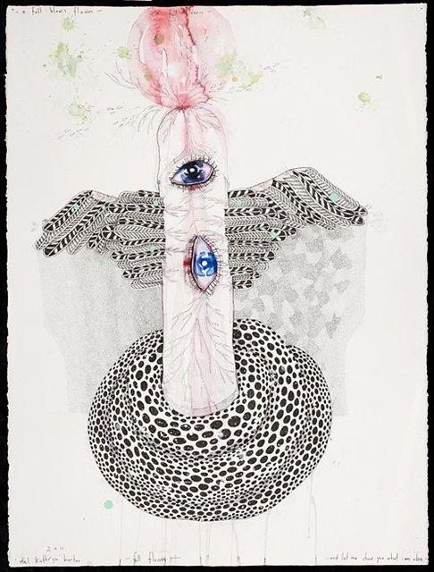 'full flown' by del kathryn barton