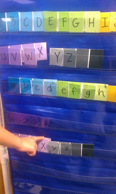 Letter Match activity