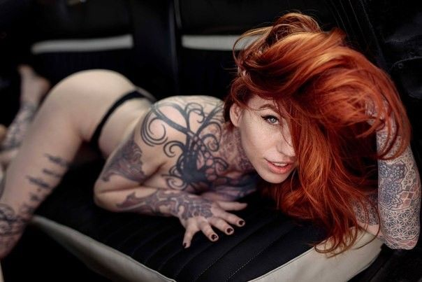 Red Head Gallery Tattoo Fetish