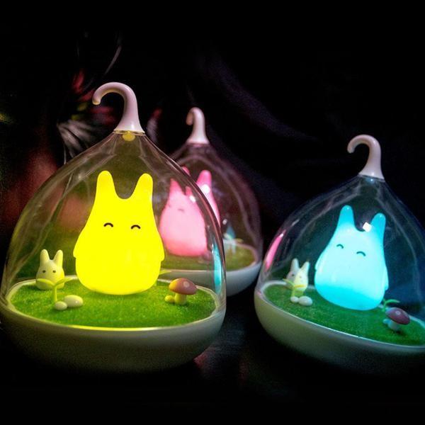 My Neighbor Totoro Night Light World Of Totoro Night Light Led Night Light Modern Lamp