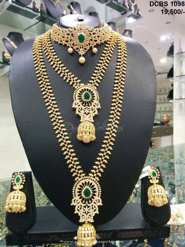 Imitation wedding jewellery sets, South Indian wedding jewellery sets, Bridal wedding jewellery sets