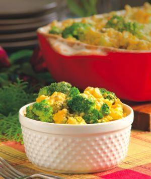 Big Mama's Broccoli Rice Casserole (crockpot) Recipe - Key Ingredient