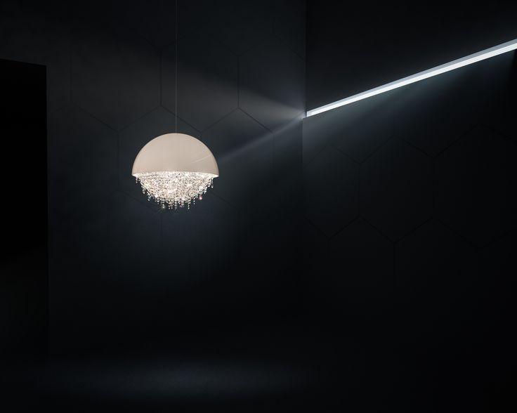 Ozero crystal chandelier #Manooi #Chandelier #CrystalChandelier #Design #Lighting #Ozero #luxury #furniture