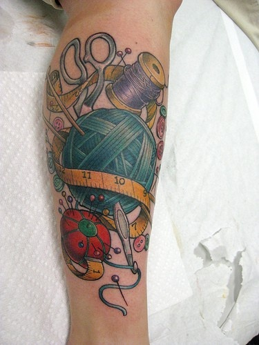 Knitting Tattoo Sleeve : Best images about tattoo ideas on pinterest beauty