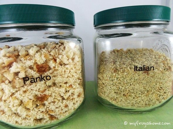 How to Make Your Own Panko and Italian Bread Crumbs