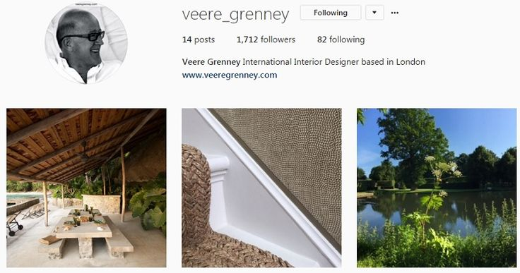 Top 100 Best Interior Designers In The World To Follow On Instagram: Veere Grenney Associates ➤ To see more news about Luxury designs visit us at http://www.covetedition.com/ #interiordesign #covetedmagazine #luxurylifestyle #interiordesign #veeregrenney @CovetedMagazine @veeregrenney