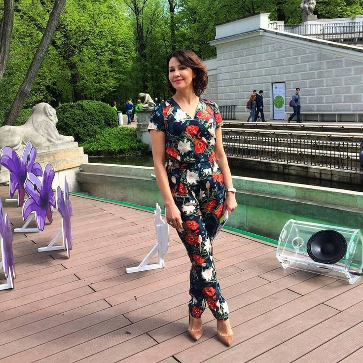 Anna Popek #floral #jumpsuit #ss17 #spring #summer #fashion #style #potisandverso