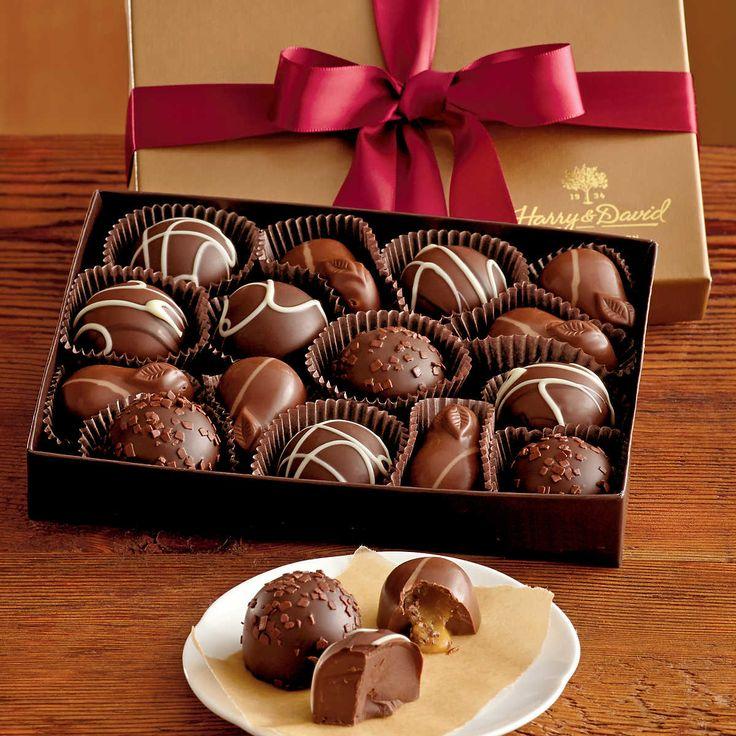 Harry and David chocolate
