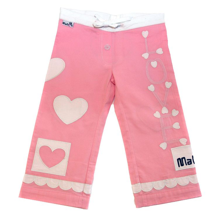 In a soft candy pink with delightful embellishments, this children #sleepwear design is feminine while still being hard wearing and super comfy for playtime or bedtime.