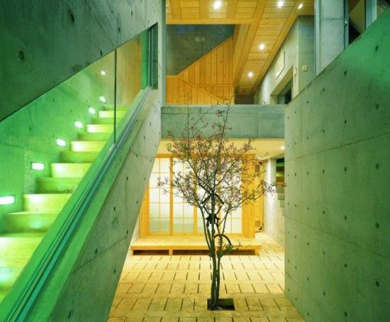 fusion-modern-traditional-korean-house-stairs