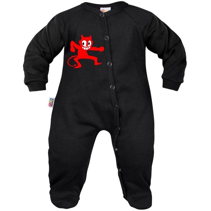 Pyjama bébé : petit DIABLE rouge