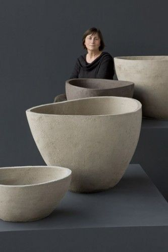 Contemporary Pots by Atelier Vierkant The scale is amazing. Not sure I've seen a kiln big enough!