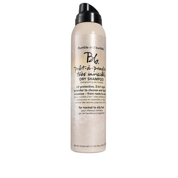Kiss unruly, oily locks goodbye with the Bumble and Bumble Prêt-à-Powder Très Invisible Dry Shampoo, a sweetly scented dry shampoo that is ideal for a variety of locks.