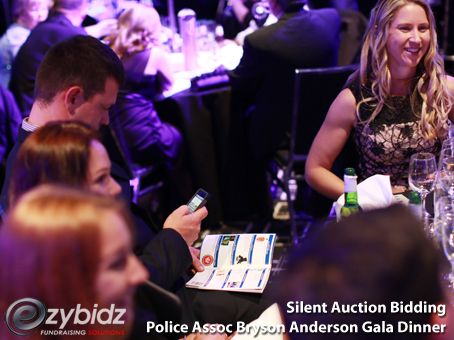 Ezybidz silent auction electronic bidding - The Best Way To Run A Silent Auction At A Large Charity Gala Event