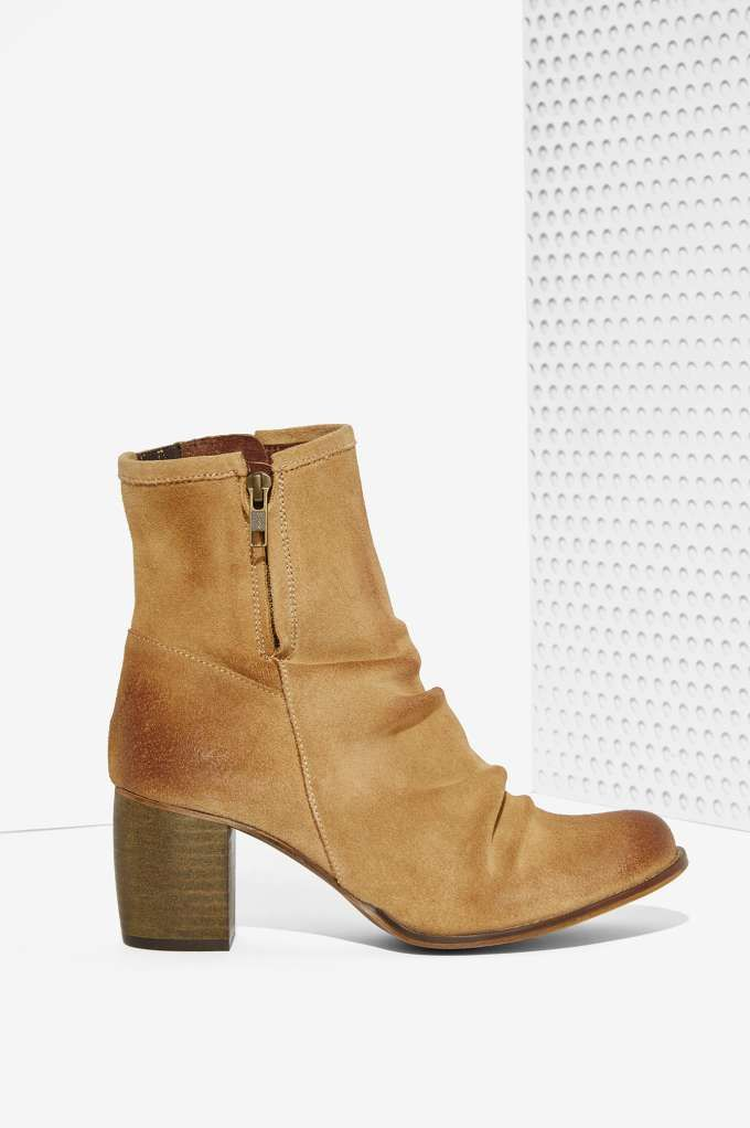 These Jeffrey Campbell Annie Suede Boot will be the only thing distressed about your summer vibes.: