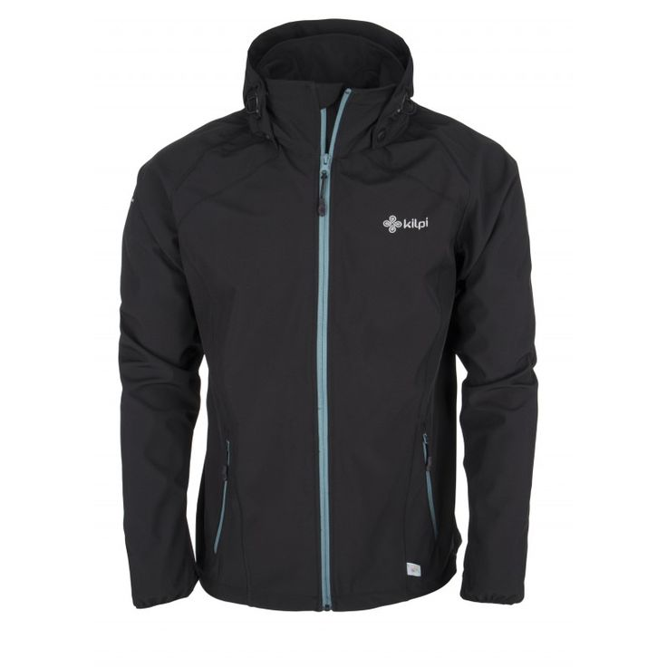Men's softshell jacket KILPI - TADDEO - black