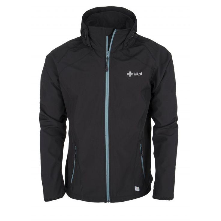 Men's softshell jacket KILPI - TADDEO - black