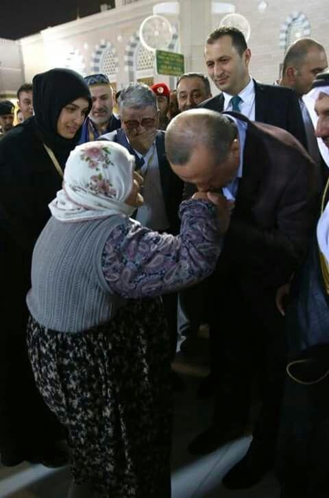 Recep Tayyip Erdoğan - Medine