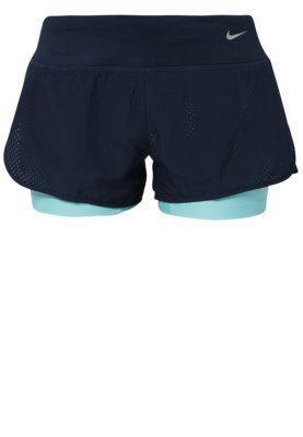 Nike Performance - PERFORATED RIVAL - Shorts - obsidian/reflective silver
