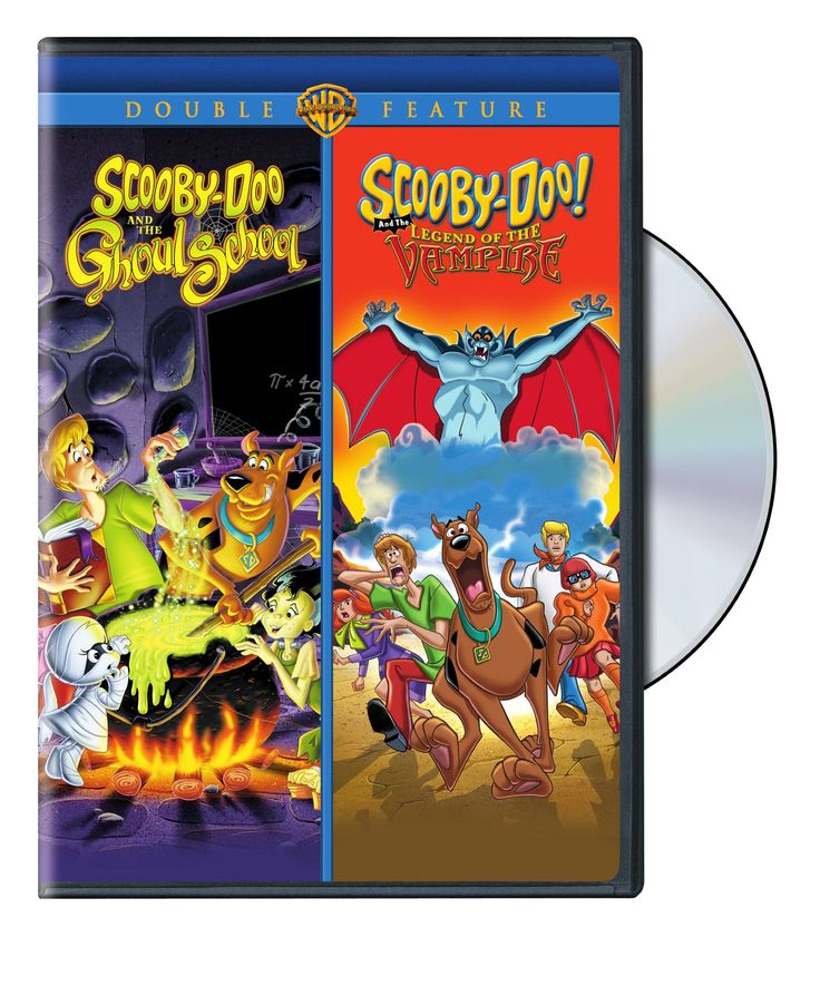 Warner Scooby-Doo and the Ghoul School/ Scooby-Doo and the Legend of the Vampire Double Feature