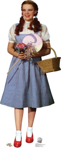 Dorothy - Wizard of Oz 75th Anniversary Lifesize Standup Poster Stand Up
