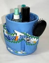 Resultado de imagen de manualidades organizador para el cuarto de baño