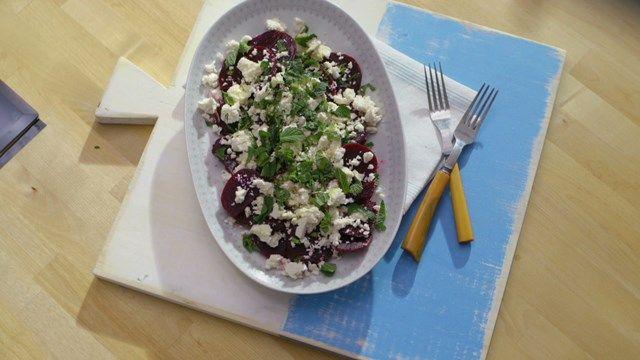 Salade de betteraves et de feta | Cuisine futée, parents pressés