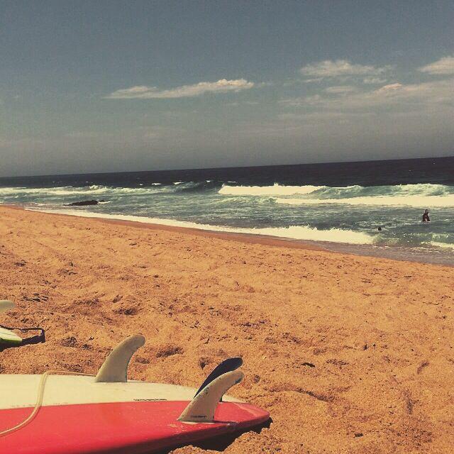 Christmas Day. Umdloti Beach. Durban. South Africa.