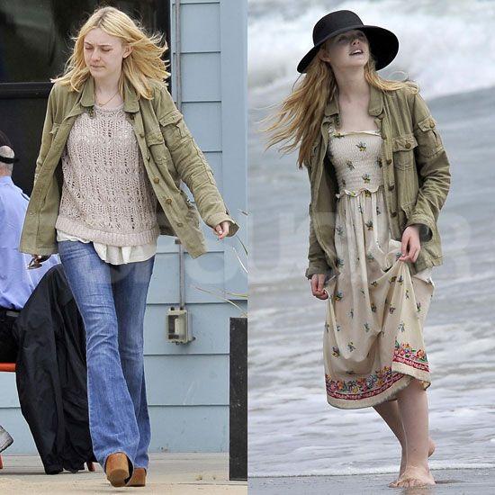 elle fanning beach | Pictures-Elle-Dakota-Fanning-Beach | PopYaCollar – Talking fashion ...