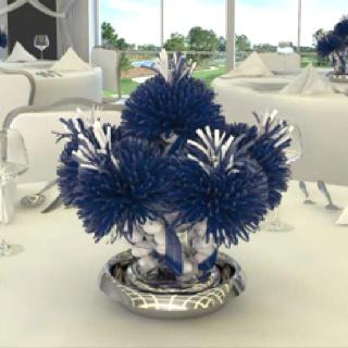 cheer leading banquet table idea
