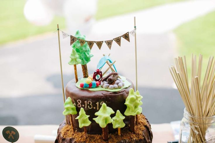 Camping / Summer Camp, Outdoor Birthday Party Ideas | Photo 2 of 133 | Catch My Party