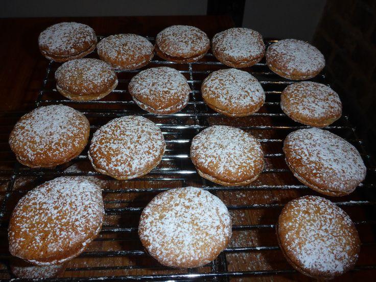 macarons à l'ancienne (2ème fournée) d'après Christophe Felder Patisserie